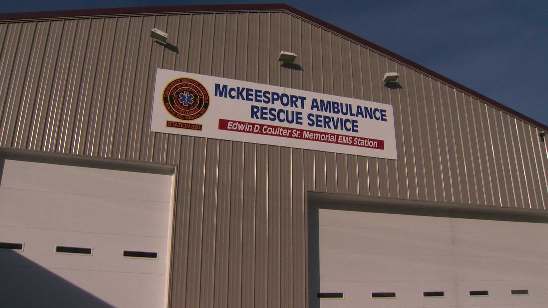 Police are investigating after shots were fired in McKeesport Saturday morning, striking multiple buildings, including the McKeesport ambulance service.