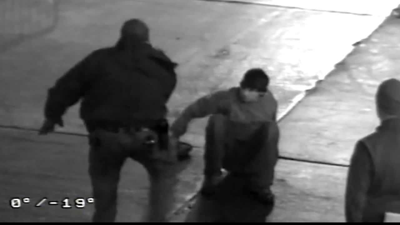 Sgt. Stephen Matakovich was seen on surveillance video striking Gabriel Despres during an arrest at Heinz Field.