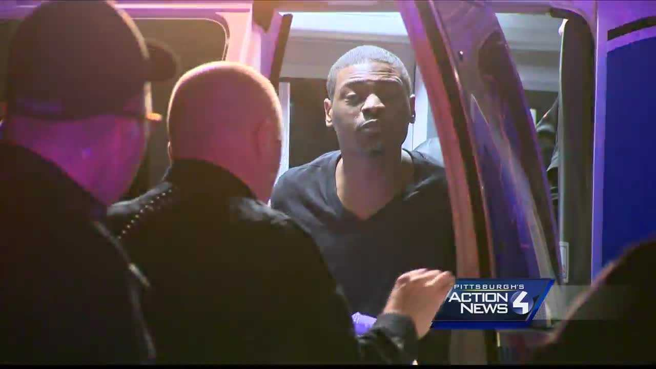 A man was taken into custody Friday night after leading McKeesport police on a pursuit that ended in Churchill.