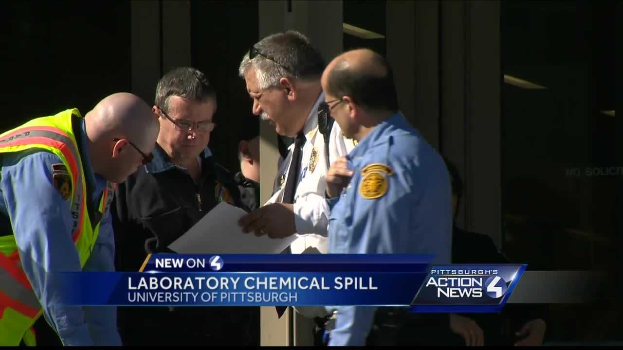 pitt lab chemical spill