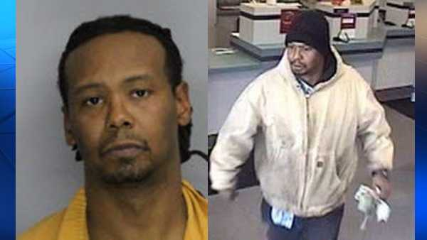 Police say Christopher Gregg is wanted on charges of robbing First Commonwealth Bank in Edgewood.