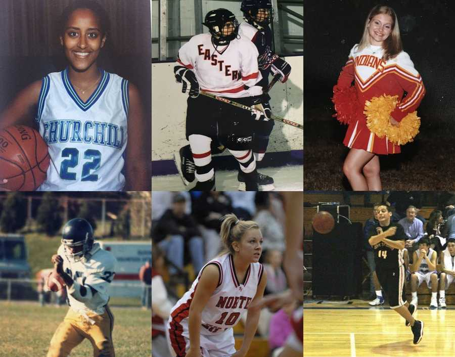 Go back in time to high school with some of your Pittsburgh's Action News 4 anchors, meteorologists, and reporters when they played high school sports!