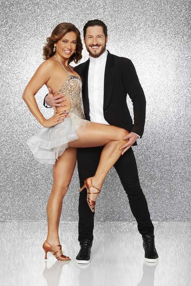 GINGER ZEE AND VALENTIN CHMERKOVSKIY