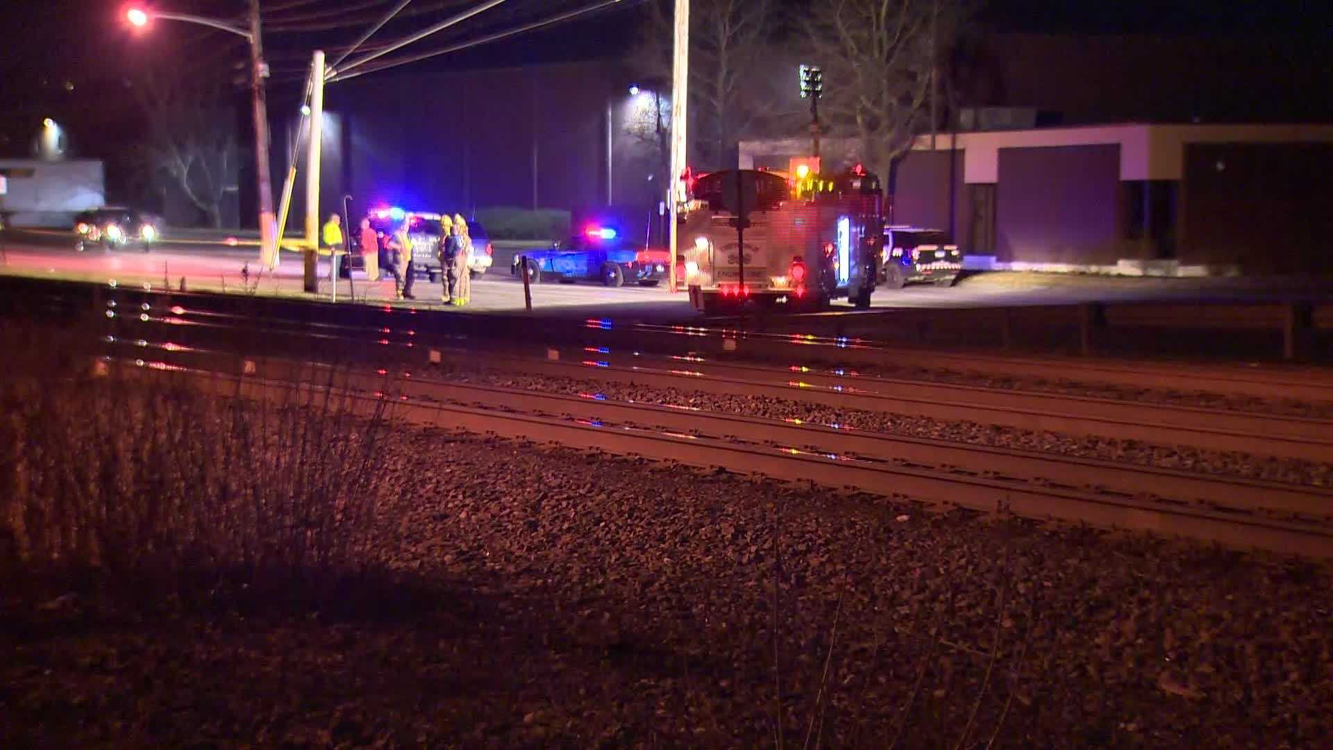 Police investigating the death of a woman Tuesday night who was hit by a train in Leetsdale.