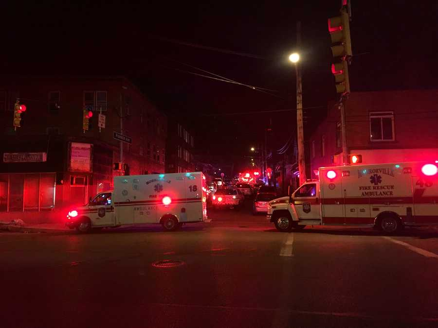 Sources tell Pittsburgh's Action News 4 multiple people have been shot in Wilkinsburg.