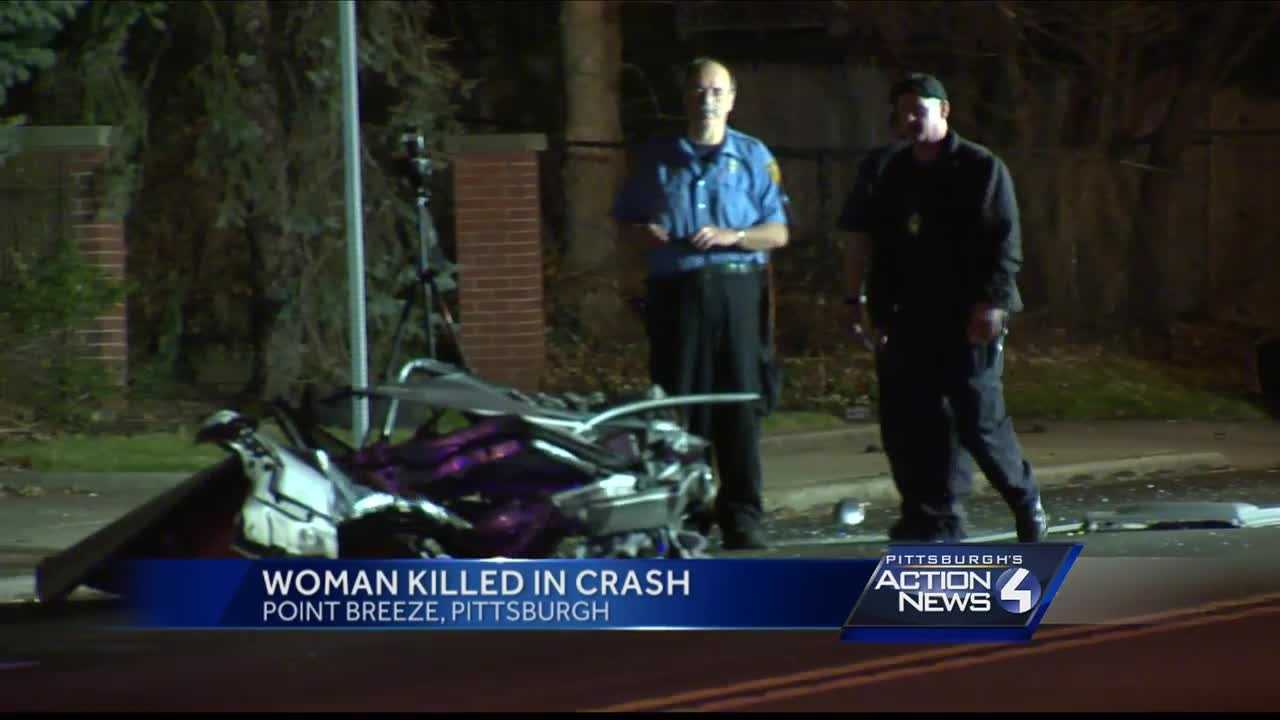 One person was killed in an accident in Point Breeze Sunday morning.