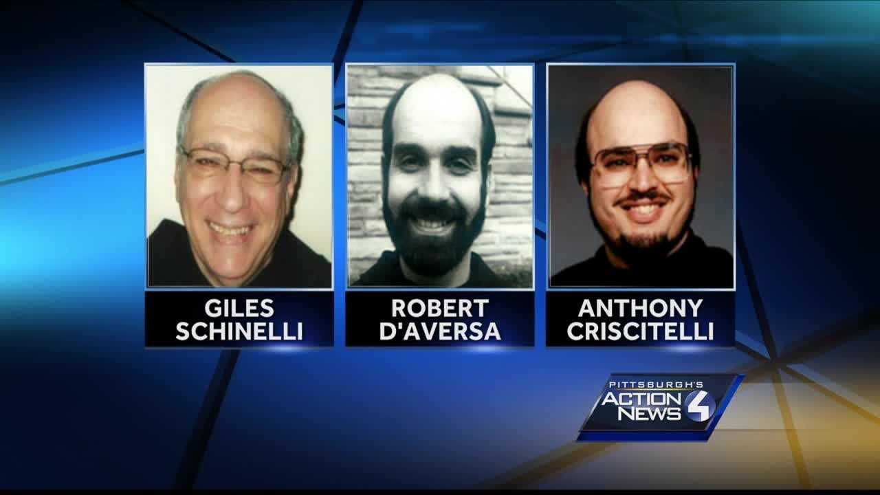 Giles Schinelli, Robert D'Aversa, Anthony Criscitelli