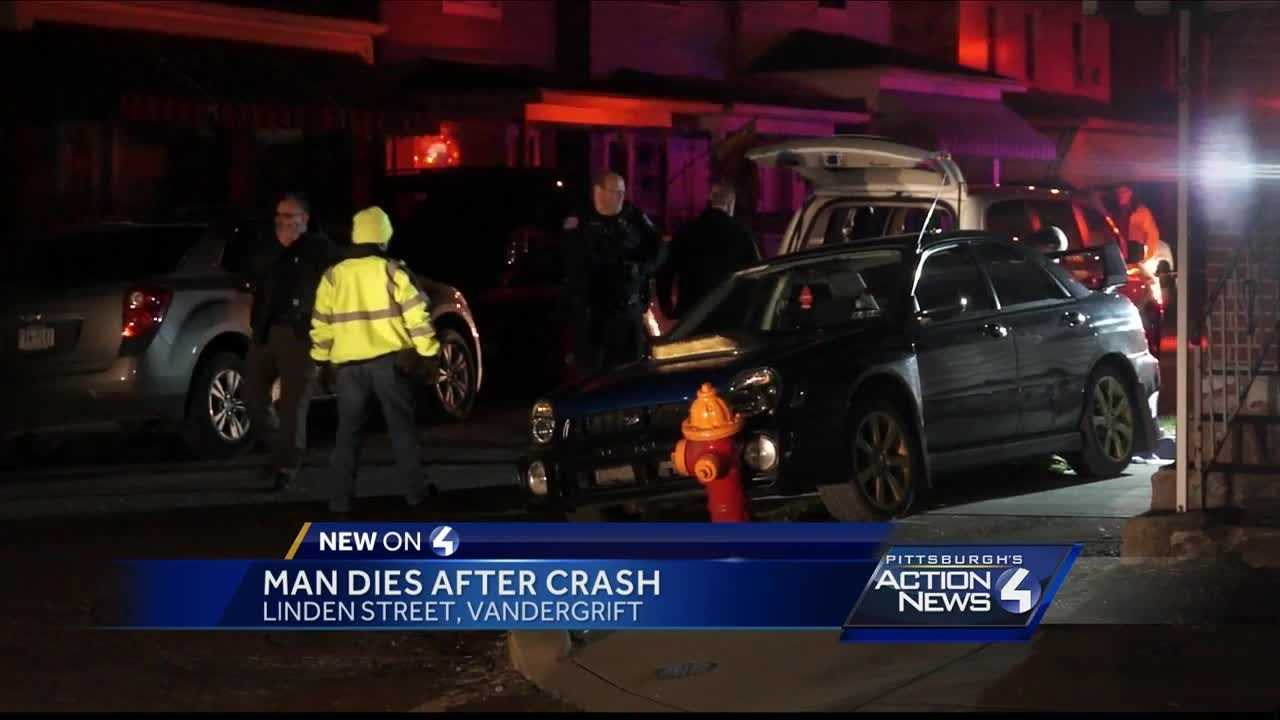 A man was killed Saturday night in a crash in Westmoreland County.