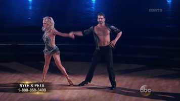 """Part of the challenge facing Nyle is being unable to hear the music at all. However, viewers could never tell. The dance was nearly flawless. """"You could be America's Next Top Dancer!"""" Bruno said."""