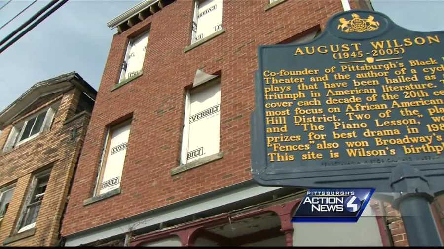 The August Wilson House in the Hill District