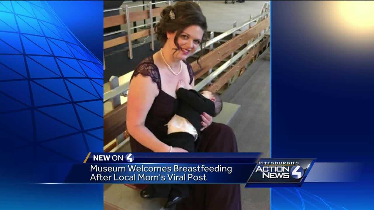 An Ohio museum is encouraging breastfeeding after a Pennsylvania mother's Facebook post drew a flurry of responses.