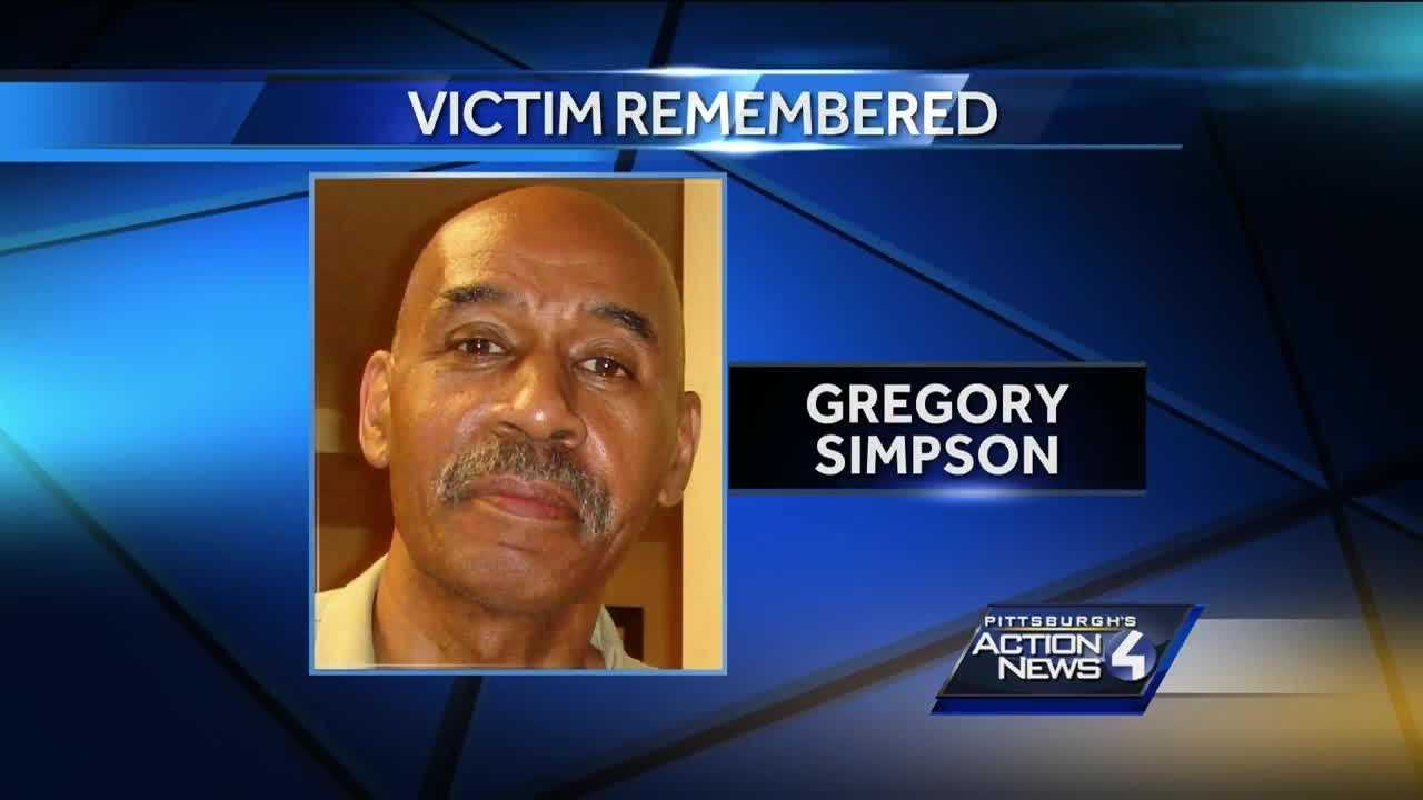 Gregory Simpson was hit in December and died in February.  Saturday, family and friends remembered him on his birthday.  Pittsburgh Police say they've continued to follow various leads to try and figure out who hit Simpson, but so far have yielded no results.
