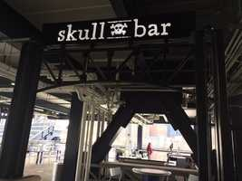 The Bowtie Bar has been rebranded the Skull Bar.