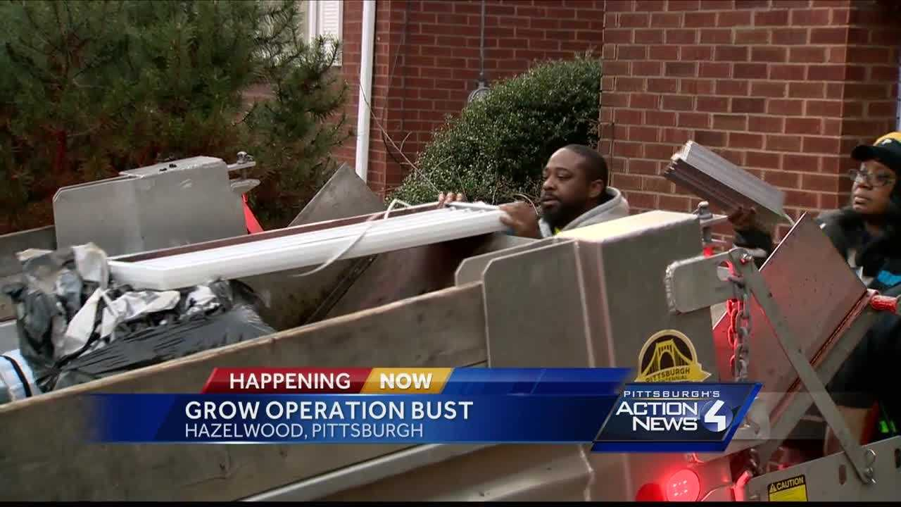 Pittsburgh's Action News 4 reporter Bofta Yimam with new details following an arrest in a Hazelwood grow operation