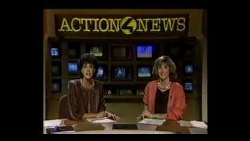 Lynn Cullen and Deborah Fox in the 1980's