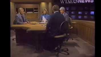 Joe DeNardo, Sally Wiggin, Don Cannon, and Bill Hillgrove in the 1989