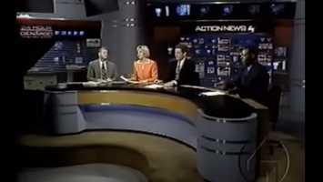 Joe DeNardo, Sally Wiggin, Mike Clark, and Andrew Stockey in 2000