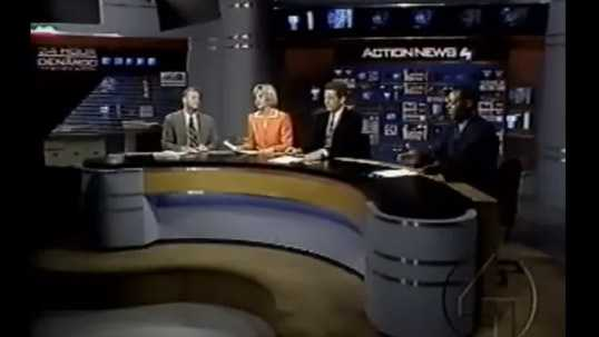 Joe DeNardo, Sally Wiggin, Mike Clark, and Andrew Stockey in 2000