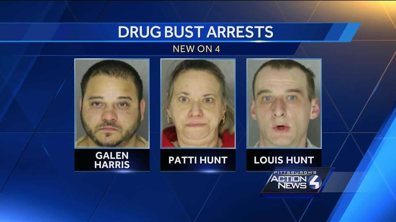 Three people were arrested following complaints of drug transactions in Pittsburgh's Observatory Hill neighborhood Friday night.