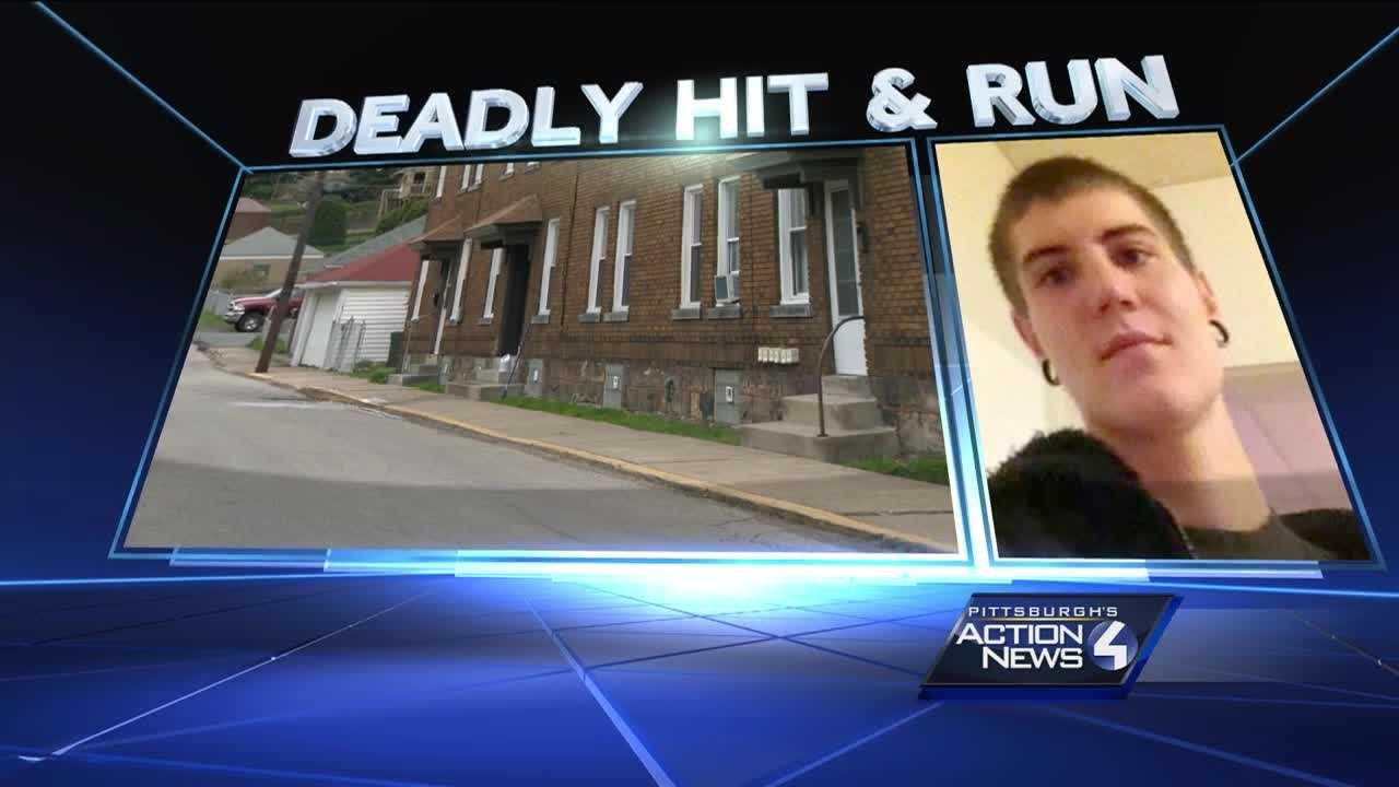 Nikkolas Poliak, an apparent hit-and-run victim, was found lying on Vine Street in McKees Rocks.