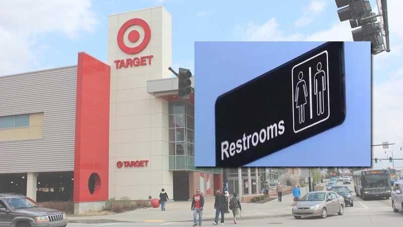 Target bathroom overlay