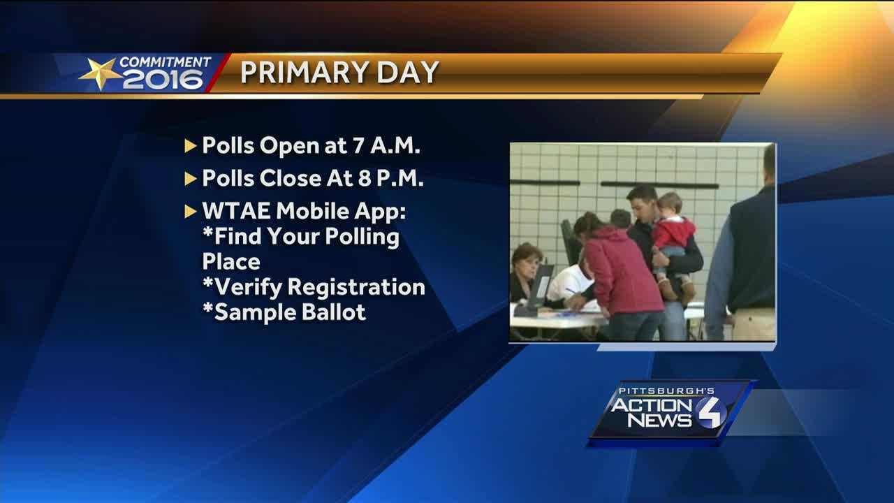 From first time voters needing identification, to illegal selfies, here's what you need to know about today's Pennsylvania primary election.