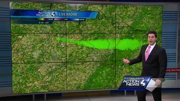 Pittsburgh's Action Weather meteorologist Steve MacLaughlin shows how our radar picked up the smoke/heat plume from the gas pipeline fire in Salem Township.