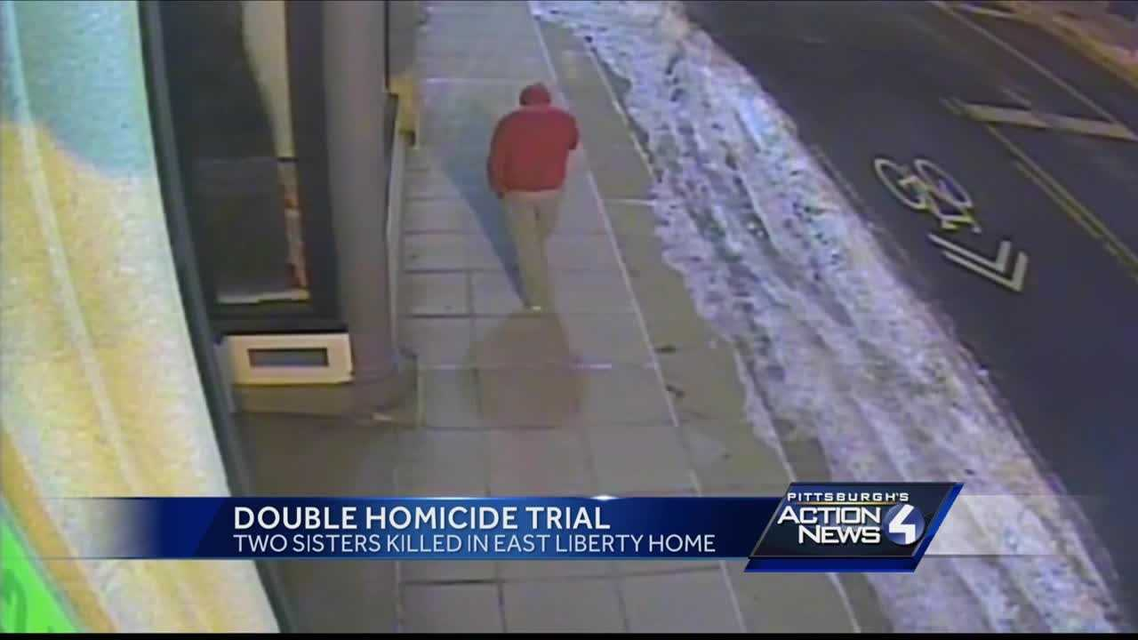 Surveillance video of a man believed to be Allen Wade walking through East Liberty after the Wolfe murders was introduced as evidence.