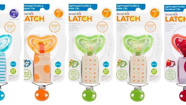 Munchkin Latch pacifiers recalled