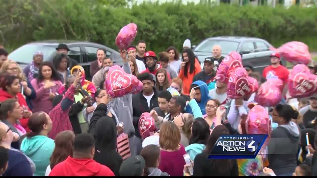 img-Family holds vigil for woman shot and killed in Washington