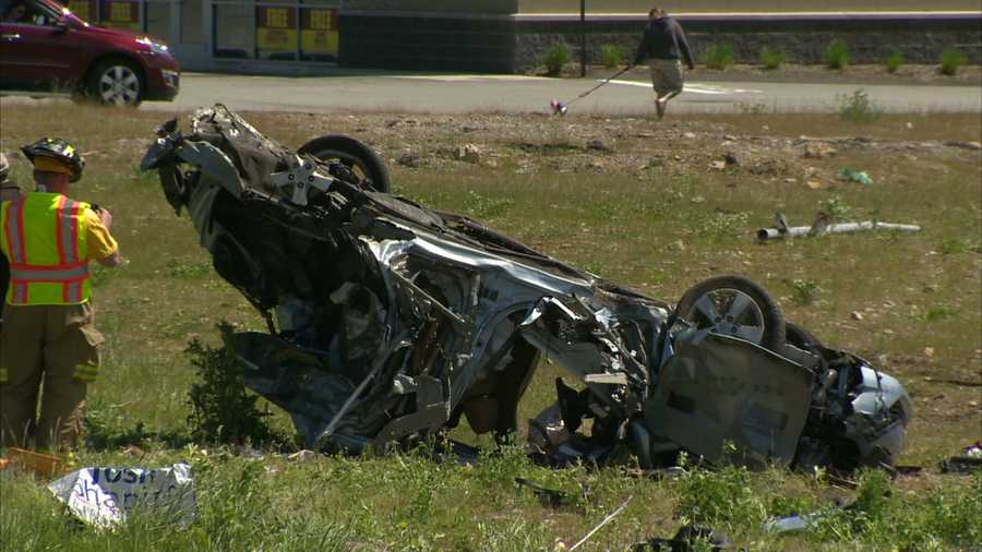 A crash in Youngwood, Westmoreland County, left five people injured.