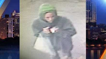 A woman allegedly asked for a light for her cigarette, then robbed a Fayette County mini-mart.