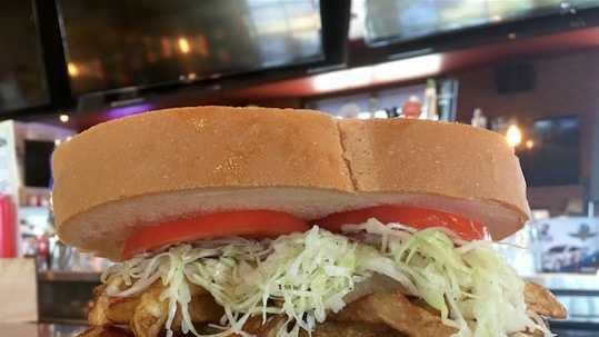 Primanti Bros. limited edition HBK sandwich.