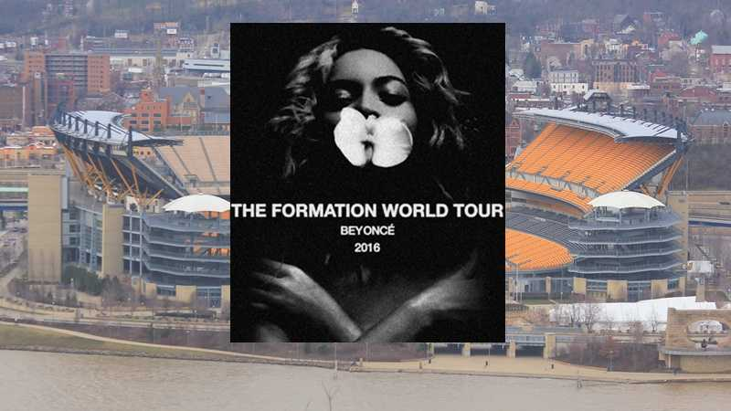 Beyonce Formation - Heinz Field overlay