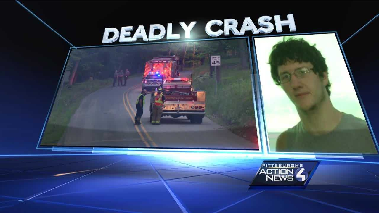 A crash killed 21-year-old Luke White on Saltsburg Road in Conemaugh Township, Indiana County.
