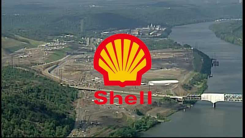 Shell Chemical Appalachia plans to build a petrochemical plant on this site in Potter Township, Beaver County.