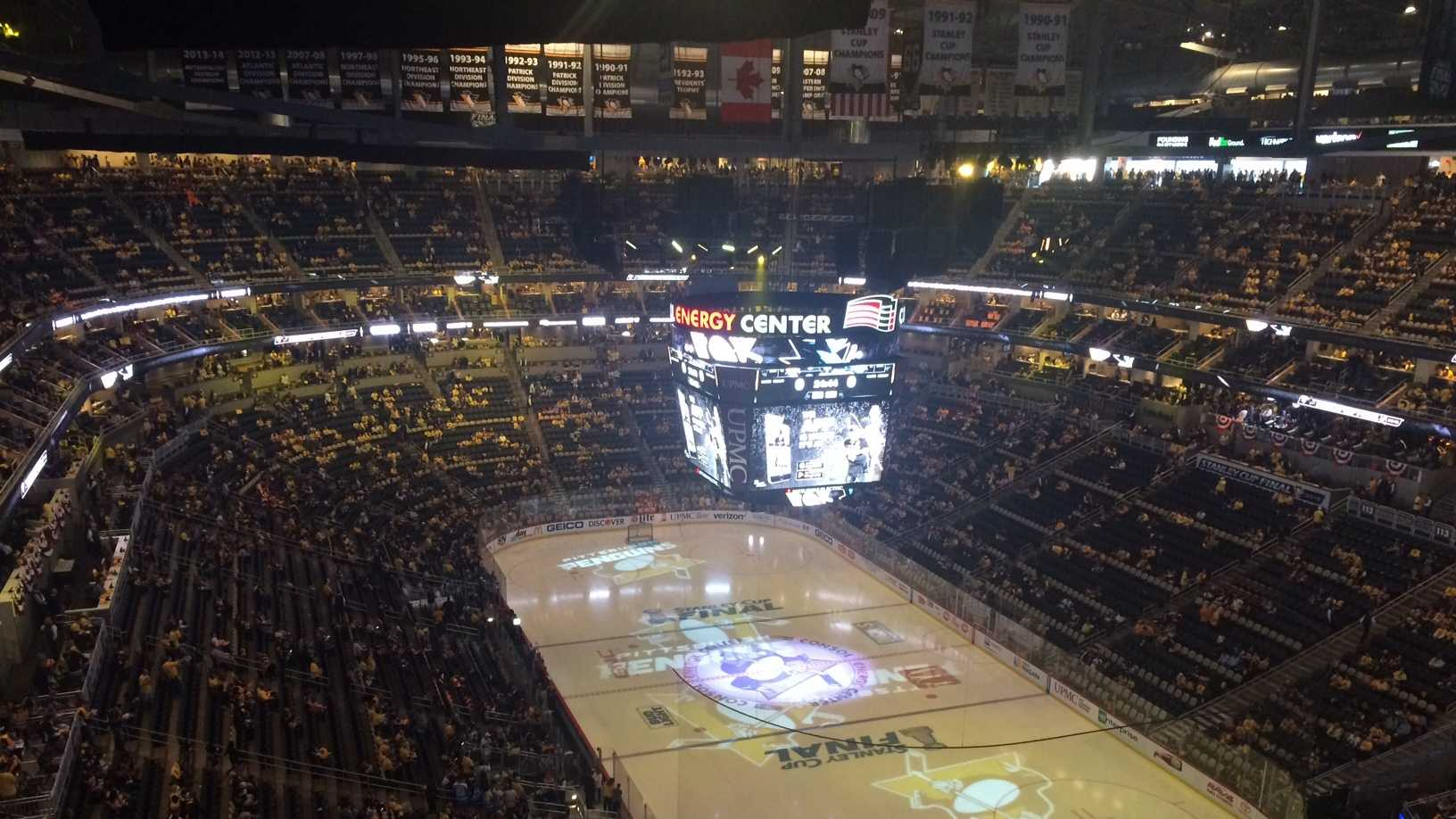 The Stanley Cup Final at Consol Energy Center