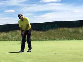 Pittsburgh native Miker Van Sickle just made the field for US Open.