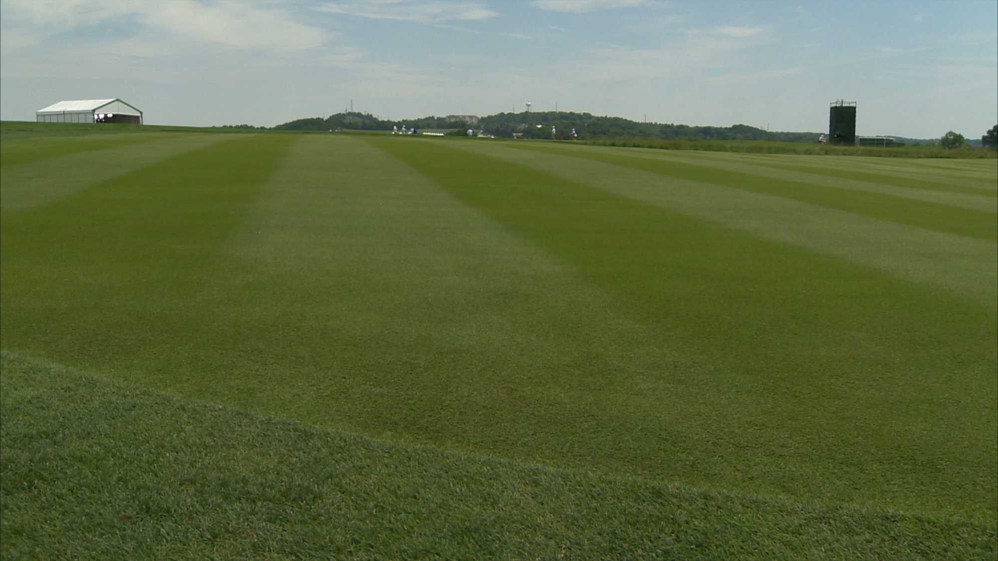 The golf course at Oakmont Country Club.