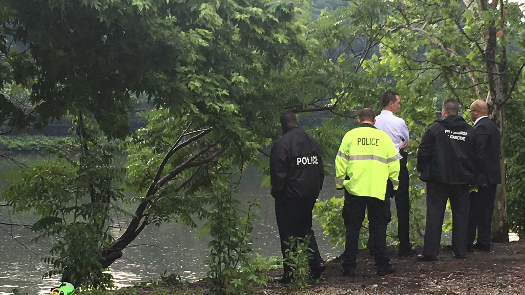 River Rescue pulled a man from his car that ended up in the Allegheny River Thursday afternoon.