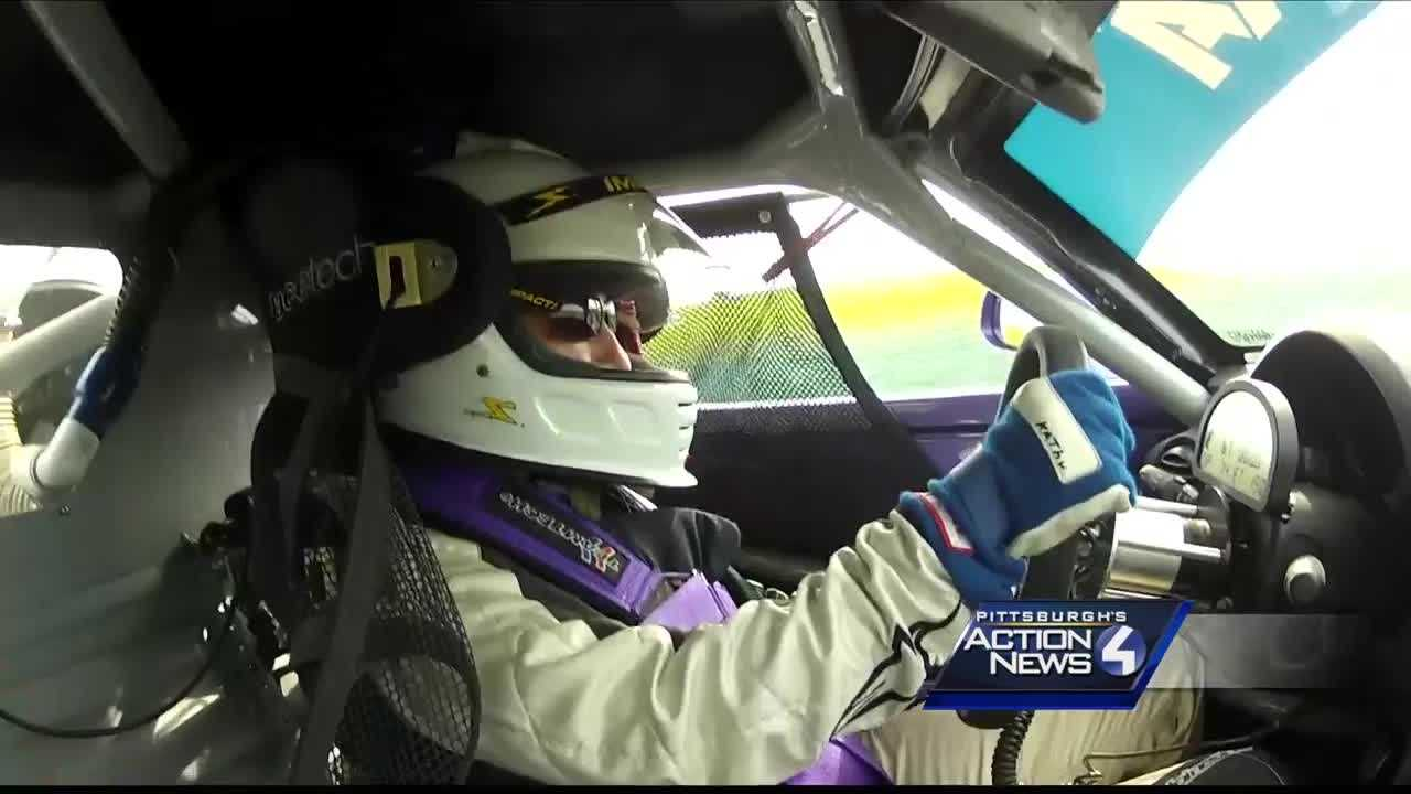 WTAE news anchor Michelle Wright went up to check out what it's like to get behind the wheel and as you'll see in the video it wasn't at what she expected.