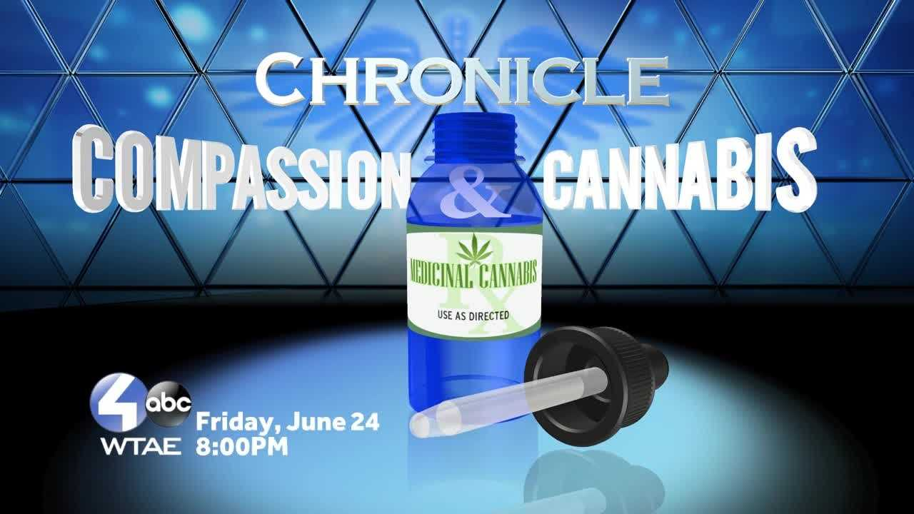 Children desperate for help, families scared of breaking the law. Chronicle: Compassion and Cannabis examines the lengthy battle for Pennsylvania families to gain legal access to cannabis oil. The hour-long program provides viewers with important information on the difference between medical cannabis oil and recreational marijuana. This primetime special premieres on WTAE Channel 4 on Friday, June 24th at 8:00 p.m.