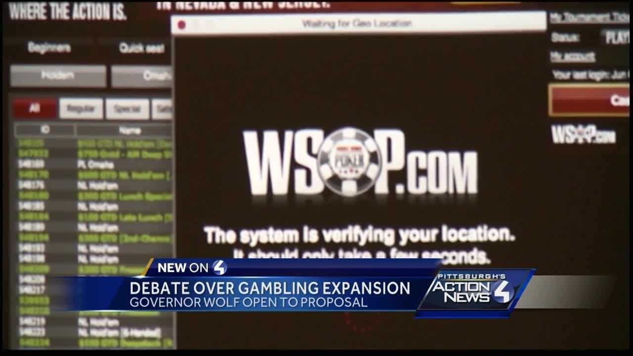 Wolf points to concerns over sweeping gambling expansion