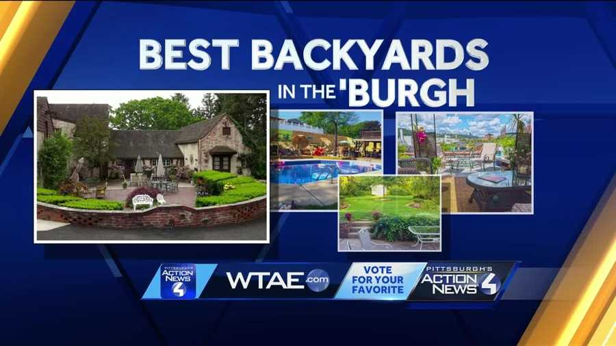 Pittsburgh's Chief Meteorologist Mike Harvey kicks off this summer's edition of the Best Backyards in teh Burgh from Shaler Township