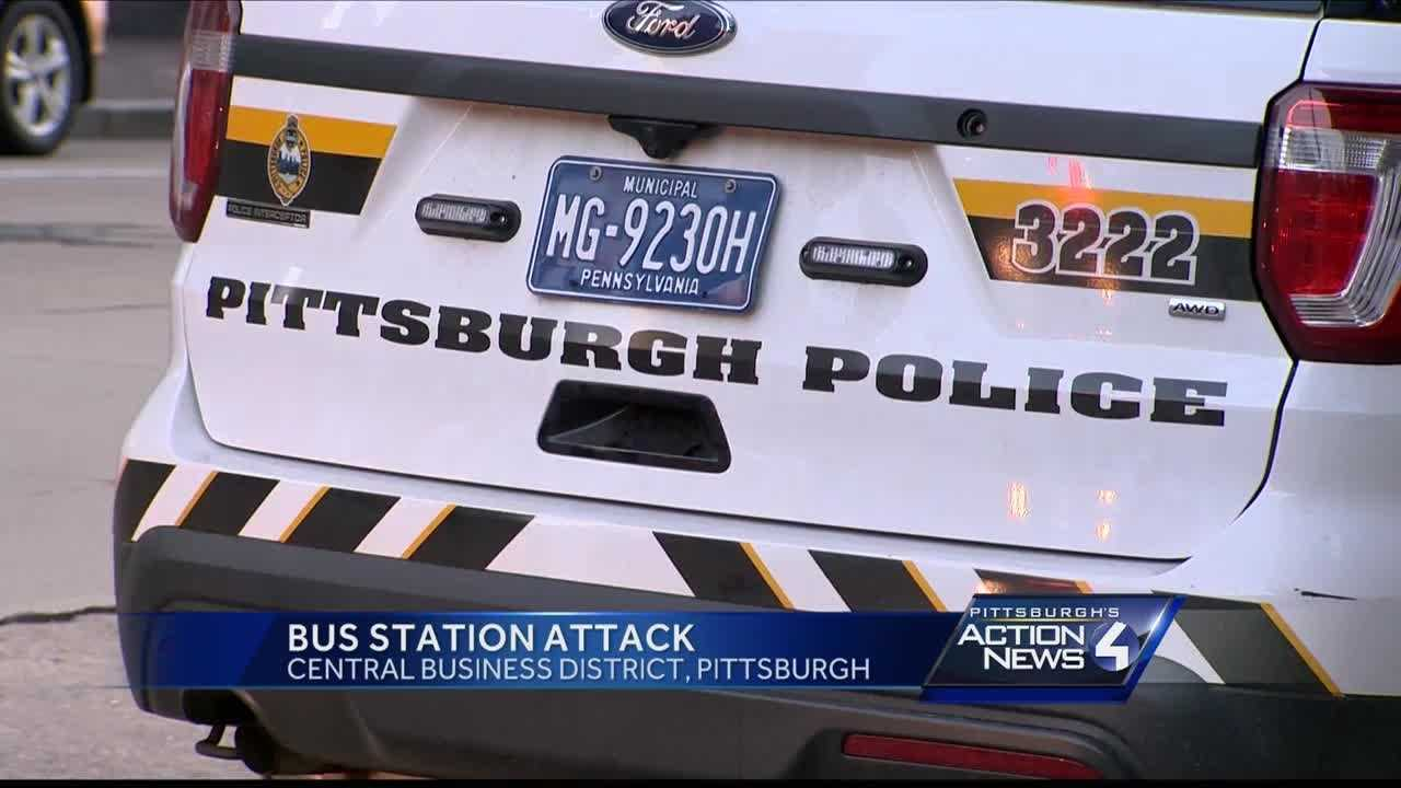 Pittsburgh's Action News 4 reporter Bofta Yimam with new details after a man is arrested after an attack outside of Pittsburgh's Greyhound bus station