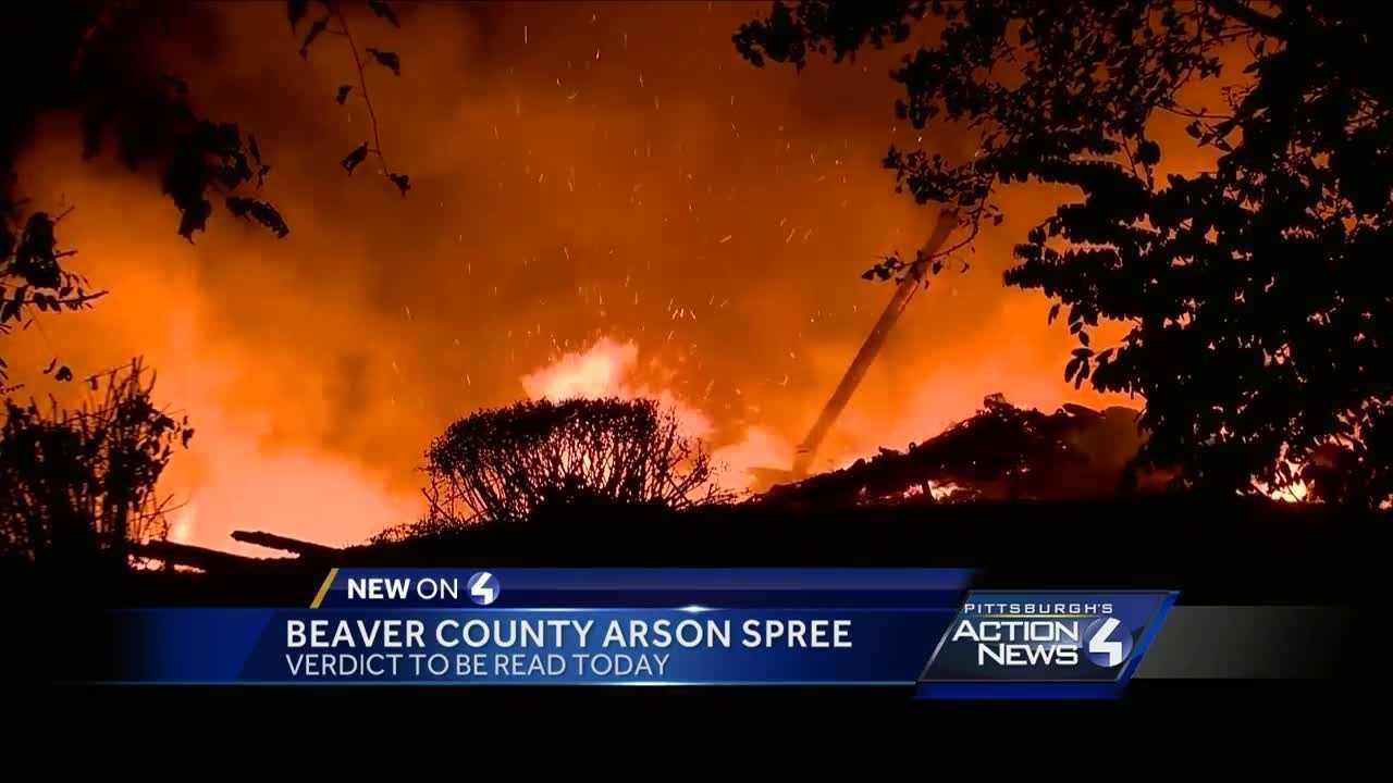 Verdict in Beaver County arsonist case to be revealed today