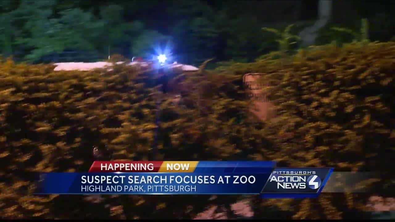 Pittsburgh's Action News 4 reporter Katelyn Sykes with the latest on the search for a suspect following a police chase