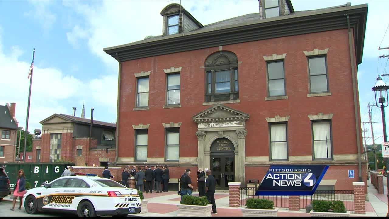 The former CCAC visual arts center will be used by the Pittsburgh Police Bureau as an interim training facility.