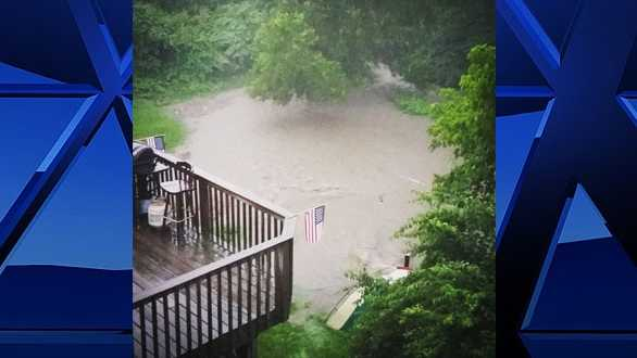 A Pittsburgh's Action News 4 viewer submitted this picture of their backyard in Castle Shannon.
