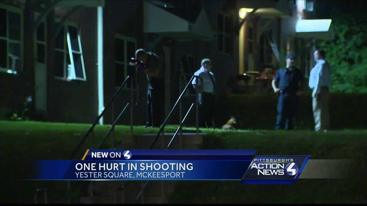 One person hurt during an early morning shooting in McKeesport